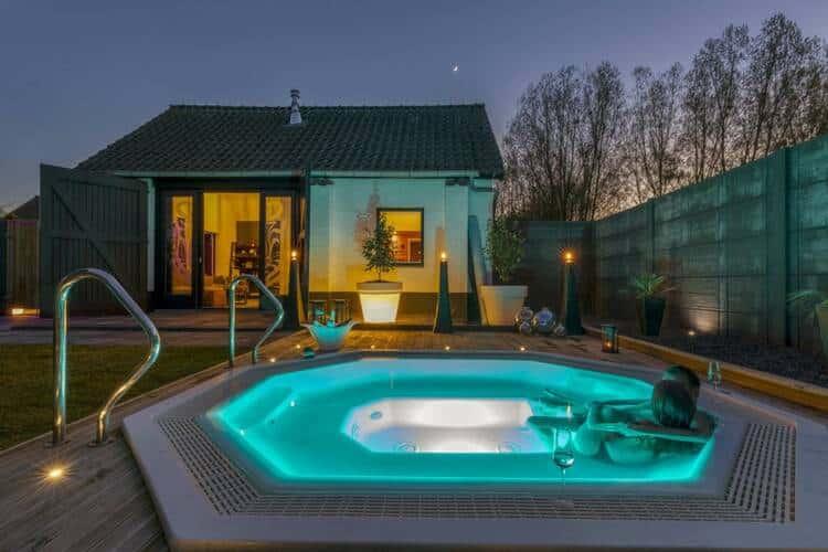luxe prive sauna met overnachting
