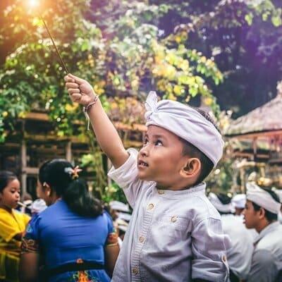 reisroute bali indonesie