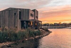 luxe tiny house aan zee nederland