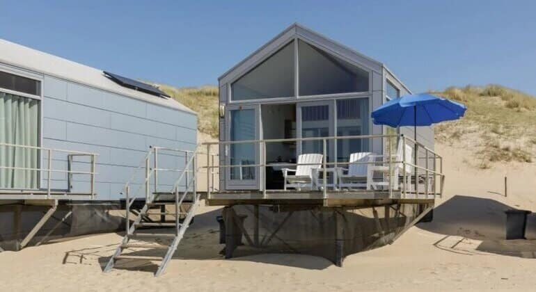 tiny house aan zee