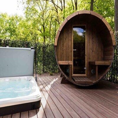 vakantiehuisjes met sauna en jacuzzi